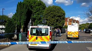Police Respond to Stabbing in Streatham - Video