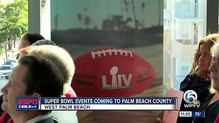 Super Bowl events coming to Palm Beach County