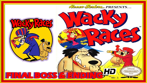 Wacky Races (NES) Final Boss Fight & Ending - 60 FPS HD