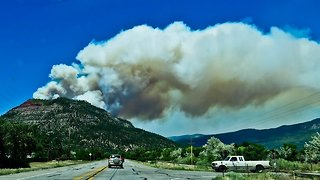 Colorado Wildfire Forces San Juan National Forest To Close - Video