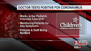 Doctor tests positive for coronavirus