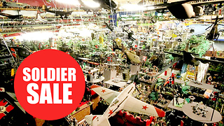 World's largest collection of toy soldiers auctioned - Video