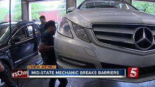 Female Mechanic Aims To Change Stereotypes One Vehicle At A Time - Video