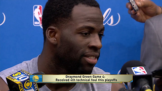 Draymond Green Doubles Down on Calling Cavs Fans Stupid - Video