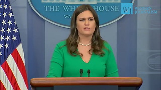 Sarah Sanders Makes Halloween Announcement - Video
