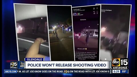 Glendale police not releasing police shooting bodycam video