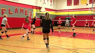 Will East volleyball captains Super 7 female athletes of the week - Video