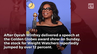 Oprah Net Worth Skyrockets After Presidential Rumors - Video