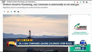 One oil and gas company wants out of Colorado, while another CEO doubles down - Video