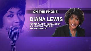 Diana Lewis remembers Aretha Franklin