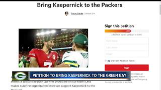 Fan creates petition to bring Colin Kaepernick to the Green Bay Packers - Video