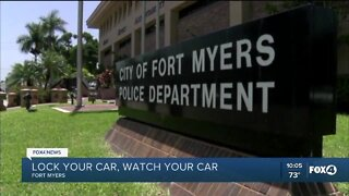 Fort Myers Police urging people to lock their doors after drastic increase in break -ins