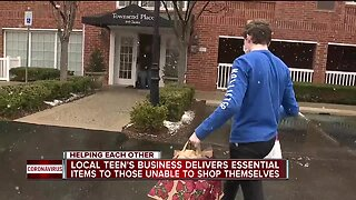 Metro Detroit teen launches website to get essential items for those who can't