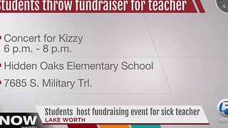 Students host fundraising event for sick teacher