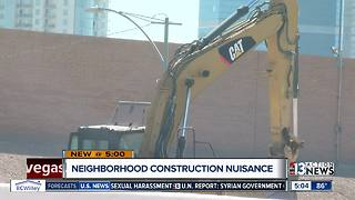 People say construction is intensely shaking their homes - Video
