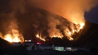 Weather Conditions Create Problems With Wildfires