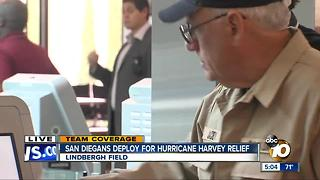 Houston Residents prep for Hurricane Harvey - Video
