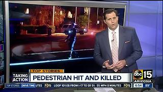 Pedestrian hit and killed in Phoenix - Video
