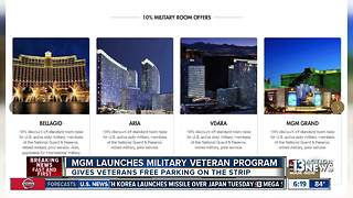 MGM Resorts launches new program to honor local veterans - Video
