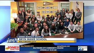 Good morning from Bryn Mawr School!
