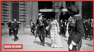 King of Kings, High King of the Belgians 'Leopold II, The Great, makes Victorious Entry in Antwerp