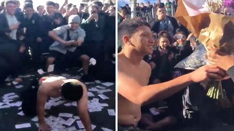 Teenager asks girlfriend to prom with magic mike inspired dance