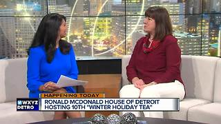 Ronald McDonald House Winter Holiday Tea - Video