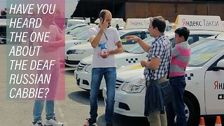 Meet Russia's safe and speedy Deaf taxi drivers