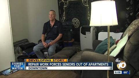 6pm Seniors ousted from home again for renovation