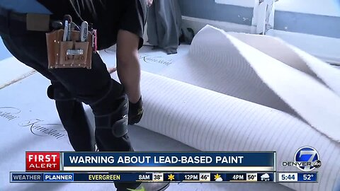 Live in a home built before 1978? You may have lead-based paint