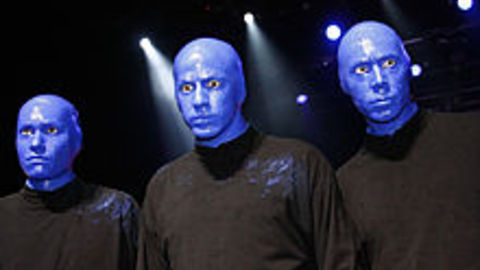 """Who Is """"Blue Man Group"""" Without Make-Up?"""