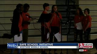 Westside students safe school initiative - Video