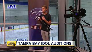 Tampa Bay area begins search for next American Idol - Video