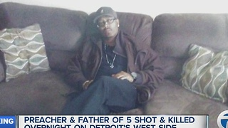 Preacher and father murdered in Detroit - Video