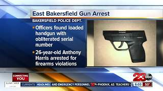 Man arrested for firearms violations in east Bakersfield