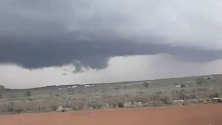 Broken Hill Blessed With Rain Following Dust Storm