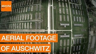 Auschwitz From Above: Aerial Footage Shows Grand Scale of Concentration Camp - Video