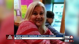 New video showing murder suspect released - Video