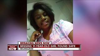 11-year-old Milwaukee girl last seen Wednesday found safe, mother says - Video