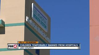 Children restricted from Lee Health Hospitals - Video