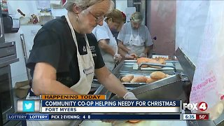 Community Cooperative delivers meals for Christmas