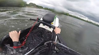 Learning to jet ski - Video