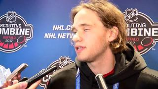 06/14 Timothy Liljegren discusses the upcoming NHL Draft - Video