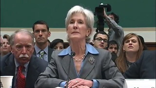 Kathleen Sebelius' Hot Mic Moment - Video
