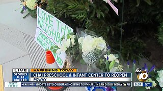 Preschool to reopen for first time since Poway synagogue shooting
