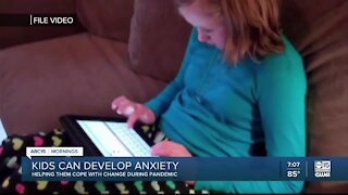 Helping kids cope with anxiety during pandemic