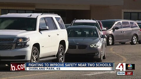 Fighting to improve safety near 2 schools in Overland Park