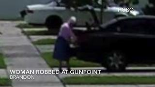 Suspects follow 86-year-old woman home, rob her | Digital Short - Video