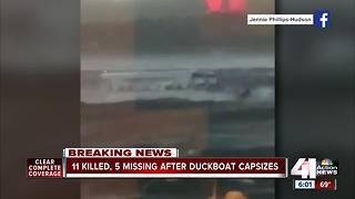 Video shows high winds in moments before fatal boat incident - Video