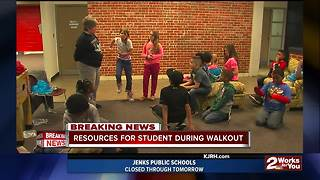 Mabee Boys and Girls Club offers resources for students during walkout - Video
